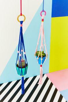 Heart Home Colour Block par Charlotte Lovey styling || Sous influence du mouvement Memphis