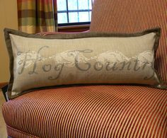 Hog Country Arkansas pillow 10 inch x 24 inch with by BurchfieldDG