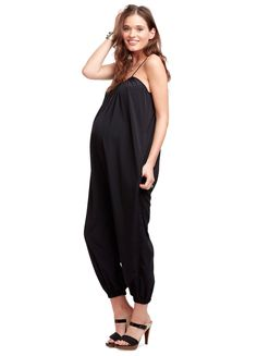 Maternity jumpsuit. So cute but....how do you pee in this thing?