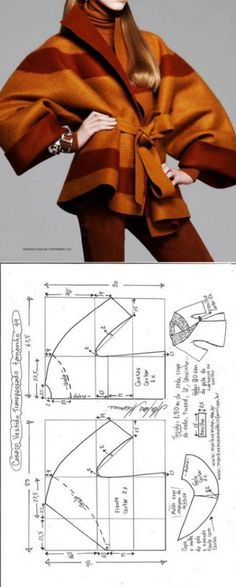 Easy Sewing Patterns, Coat Patterns, Clothing Patterns, Dress Patterns, Sewing Shirts, Sewing Clothes, Dress Sewing, Doll Clothes, Fashion Sewing