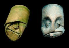 Sculture di rotoli di carta igienica di Junior Fritz Jacquet
