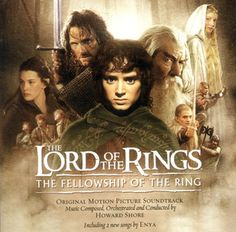 The soundtrack of the movie Lord of the Rings