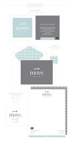 move. Branding by Emily McCarthy www.emilymccarthy.com #branding