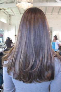 brunette highlights Corte