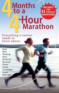 Not that I'm aiming for 4 hrs but it's full of good tips. Just want to improve upon my first one. #marathon