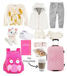 """""""coming from Florida and moving with my uncle"""" by genesisvega02 ❤ liked on Polyvore featuring Disney, H&M, Carter's, Old Navy, Vans and Happy Jackson"""