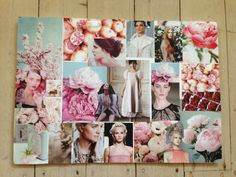 Before Pinterest and Instagram #fashion mood board