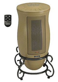 lasko designer series ceramic heater with remote
