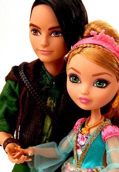 Hunter e Ashlynn não são uns FOFOS genteee?!! Olha só a perfeição dos bonecos (valeuuuuu Mattel!!!!)
