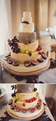 cheese wedding cake (groom's cake!)