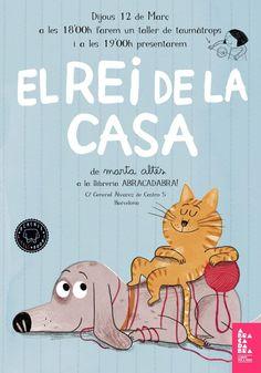 La vida d'un gat no sempre és fàcil. Un dia ets el rei de la casa i de cop i volta tot canvia! Family Guy, Snoopy, Cats, Books, Fictional Characters, Children's Books, Writers, Exhibitions, Hilarious