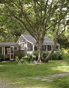 Grey Cottage Exterior...cute