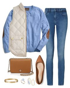 Just smile and wave by labla534 on Polyvore featuring polyvore, fashion, style, J.Crew, Calvin Klein, Coach, Tory Burch, Cartier, Kendra Scott, Alexis Bittar and clothing