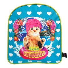 Miss Sunshine Backpack, 19,50€, now featured on Fab.