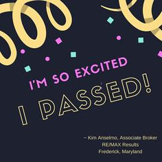 🎉 I have had the pleasure and honor of being a Realtor for over 25 years. Today, I took my State of Maryland Real Estate Broker Exam... and I passed! This was both a challenging and rewarding journey, and I am beyond excited to begin this new chapter as a real estate ASSOCIATE BROKER for Frederick County, Maryland! Thank you all for your support! 🎉 ••••••••••••••••••••••••••••• #kimsellsfrederick #realtor #realtors #realestate #realestateagent #realestateexpert #remax #remaxresults…