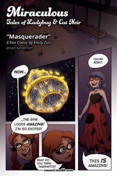 """""""Masquerader"""" pag. 1 Miraculous: Tales of Ladybug and Cat Noir """"Masquerader"""" - By emzurl Next >> Page 2 I've been wanting to make a comic for a while now to get a feel for how to make one. This is going to be a learning process for me so I welcome you on this ride! I had..."""