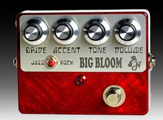 Amplified Nation Big Bloom 2015 Brushed Candy Apple Red Dumble Style