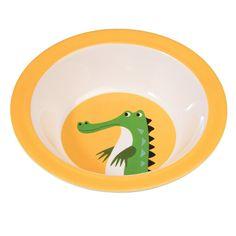 Crocodile Melamine Bowl