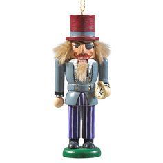 Nutcracker Ornaments, Wood Ornaments, Great Christmas Presents, Christmas Gifts, Christmas Ornaments, German Nutcrackers, Animal Snacks, White Bear Lake, Secret Santa Gifts