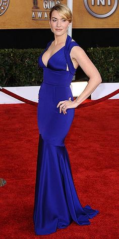 Kate Winslet - Narcisco Rodriguez, 2009 SAG Awards (she won Best Supporting Actress)