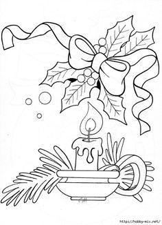 Новогодние и рождественские картинки. Шаблоны для творчества, раскраски.. Обсуждение на LiveInternet - Российский Сервис Онлайн-Дневников