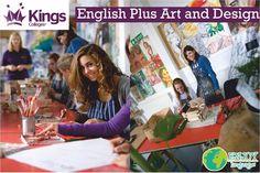 #ProgramaDelDía #Inglés más #diseño y #arte Este programa es ideal para los estudiantes que les encanta el arte, y que necesitan mejorar su nivel del idioma Inglés, practicaran el idioma mientras llevan clases de arte y diseño con profesores expertos en el  tema. #KingsCollege #Inglaterra #Oxford #EnjoyLanguages