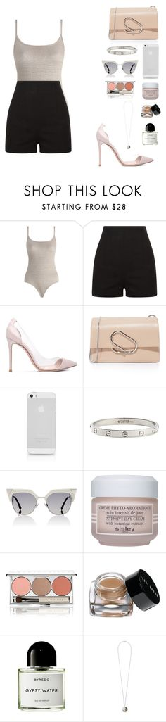 """""""Untitled #648"""" by florafow ❤ liked on Polyvore featuring Zimmermann, Gianvito Rossi, 3.1 Phillip Lim, AT&T, Cartier, Fendi, Sisley, Chantecaille, Bobbi Brown Cosmetics and Byredo"""