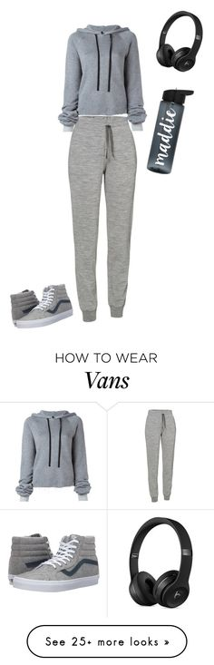 """Untitled #1929"" by sylviabunny on Polyvore featuring Icebreaker, Unravel and Vans"