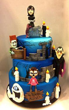 Cake Designer: Torta Hotel Transylvania