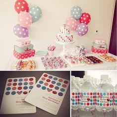 pink elmo birthday party dessert table