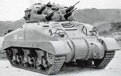 ドイツの急降下爆撃機に頭を悩ませていたカナダが開発した対ドイツ対空戦車。 シャーマンを基にした試作車が完成した頃にはドイツ軍は劣勢になり必要性が薄れ開発中止。