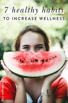 7 Healthy Habits to Increase Wellness   Healthy Lifestyle   Wanting to build simple healthy habits? Click to get started with 7 Days of Wellness, a free e-course in launching your own daily wellness routine including nutrition, fitness, digestion, relationships, stress management