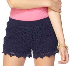 Lilly Pulitzer Lacie Short in True Navy- the comfiest pair of shorts ever!