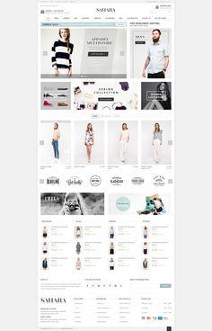 SAHARA - Fashion 5 - Ultimate Responsive Magento Themes