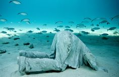 Human Nature: Jason deCaires Taylors Submerged Figurative Sculptures