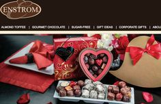 Enstrom Candies chocolates for Valentines - made in Colorado