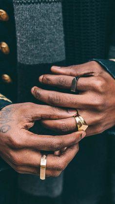 Chubster loves accessories - Plus Size Men fashion - Mode homme grande taille - Accessoires pour homme - - - - - - - - - - - - - - Trendy Jewelry, Men's Jewelry, Fashion Jewelry, Jewellery, Pandora Jewelry, Fashion Mode, Mens Fashion, Rock Fashion, Black Hills Gold