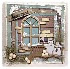 472.948.029 Dutch Paper Art Snowman door Raffaela Perego