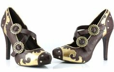 steam punk shoes - Loving me some Steam Punk!