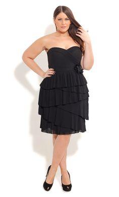 e1b32c04a5 City Chic PLEAT POLLY DRESS- Women s Plus Size Fashion City Chic