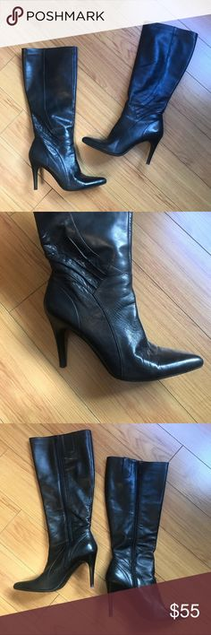 d613c9a25ddea Nine West Black Heel Pointed Toe Boot Size 10 Nine West Generosao Heel Boots  size 10