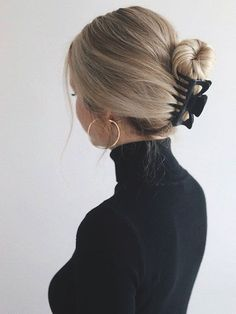 70 Super einfach DIY Frisur Ideen für mittleres Haar Ecemella - 70 super easy DIY hairstyle ideas for medium hair ecemella . - 70 Super Easy DIY Hairstyle Ideas For Medium Hair Ecemella - Medium Thin Hair, Medium Hair Styles, Curly Hair Styles, Looks Black, Aesthetic Hair, Hair Day, Hair Looks, Braided Hairstyles, Natural Hairstyles