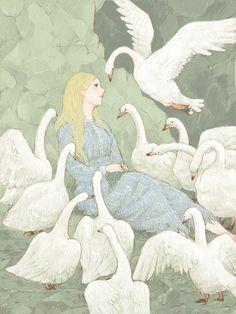 quitさんの手書きブログ 「白鳥の王子」 手書きブログではインストール不要のドローツールを多数用意。すべて無料でご利用頂けます。