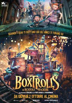 Boxtrolls: Le scatole magiche – Scheda film