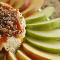 Caramel cheesecake apple dip!