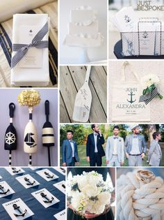 nautical wedding ideas - Google Search