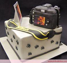 #Camera #Birthday #Cake