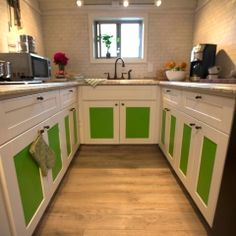 The tiny house has a comparatively large kitchen--including full-size appliances. . Browse more photos from the Bohemian Escape gallery, only on FYI.tv.