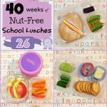Kids Nut Free Kids School Lunches: Week 26 of 40