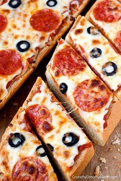 Pepperoni Pizza Bread Recipe Fresh the Best Homemade Pizza Dough Recipe Card Crunchy Creamy Solo Pizza, Junk Food, Best Homemade Pizza, Calzone, Stromboli, Cheesy Garlic Bread, Cheesy Chicken, Love Food, Deep Dish
